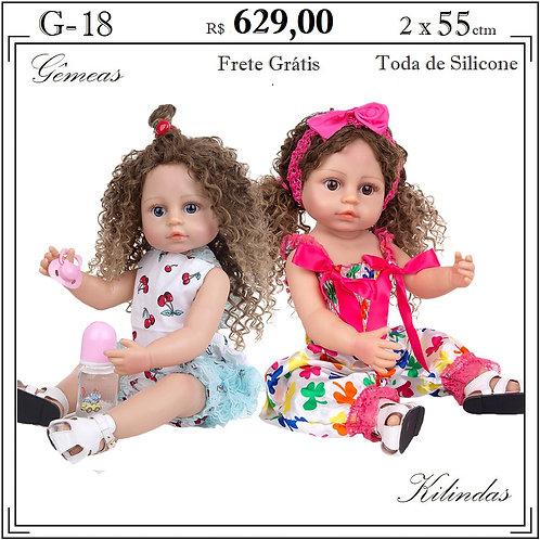 Gêmeas Silicone -G18
