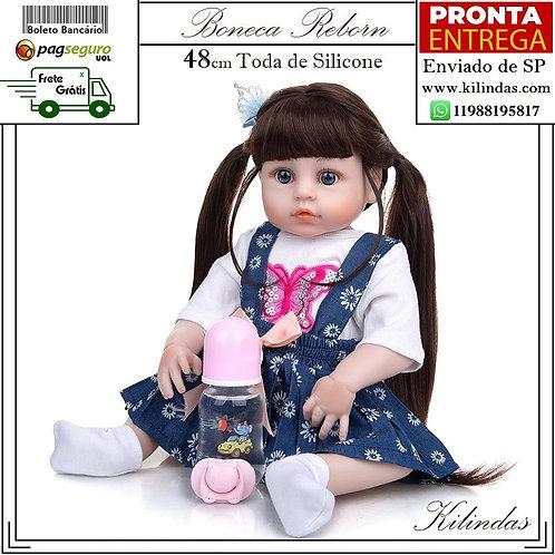 Boneca Silicone -S12 Pronta