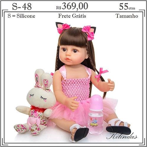 Boneca Silicone -S48