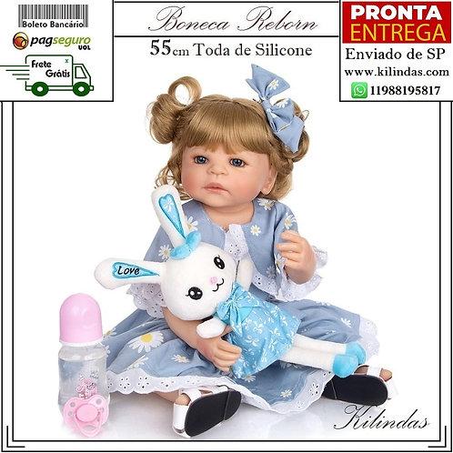 Boneca Silicone -S40 Pronta