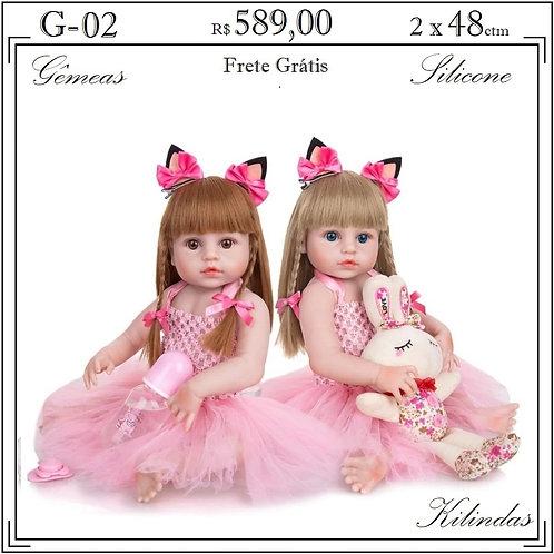 Gêmeas Silicone -G02