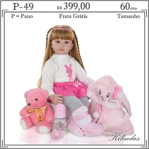 Boneca Pano -P49