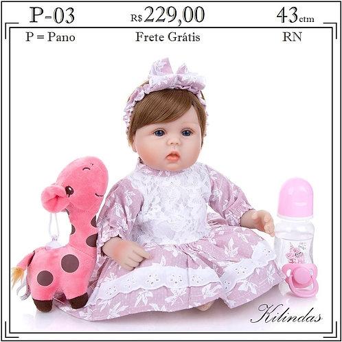 Boneca Pano RN -P03