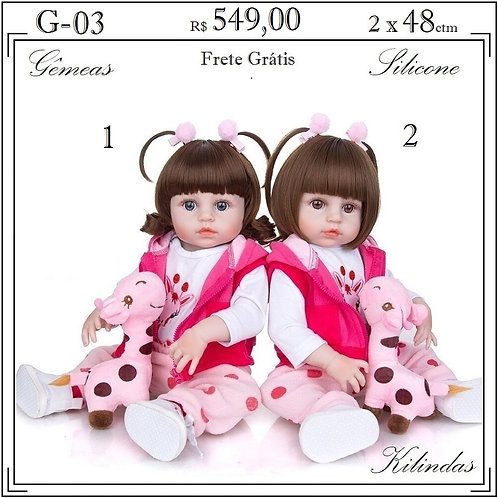 Gêmeas Silicone -G03