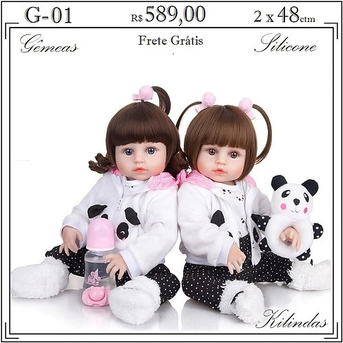 Gêmeas Silicone -G01