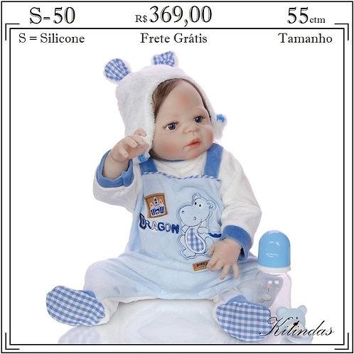 Boneca Silicone -S50