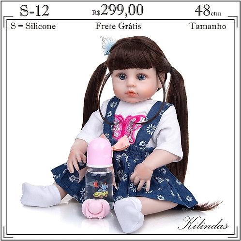 Boneca Silicone -S12
