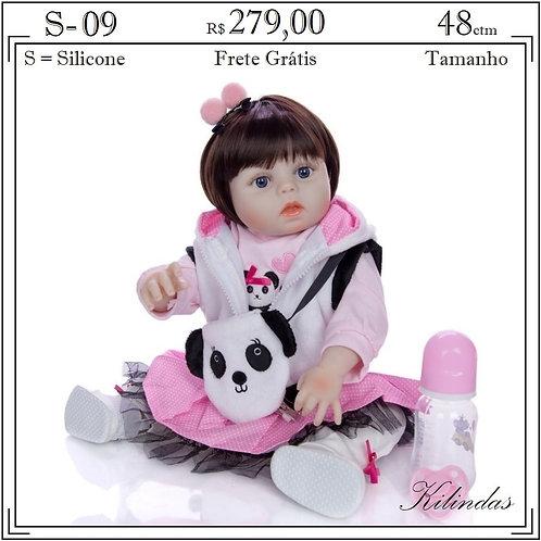 Boneca Silicone -S09