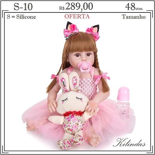 Boneca Silicone -S10