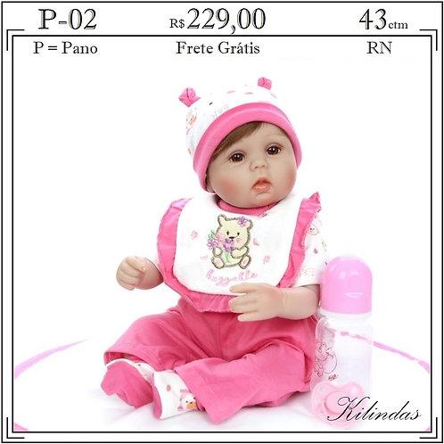 Boneca Pano RN -P02