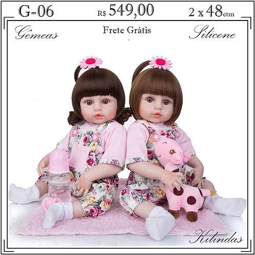 Gêmeos Silicone -G06