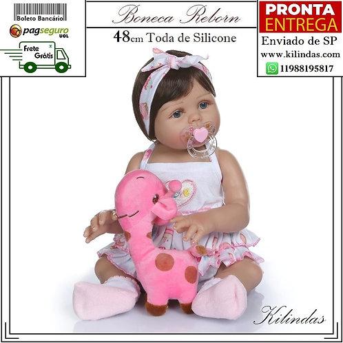 Boneca Silicone -S01 Pronta