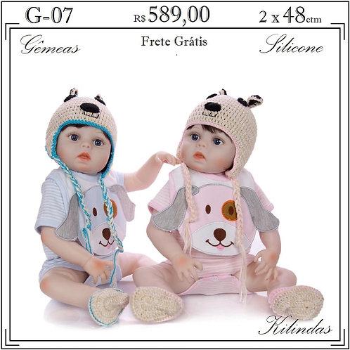 Gêmeos Silicone -G07
