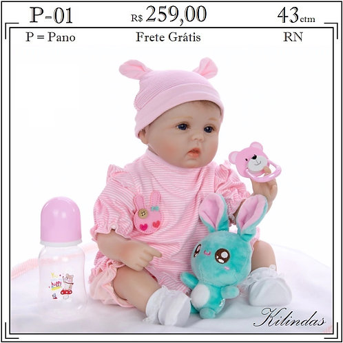 Boneca Pano RN -P01