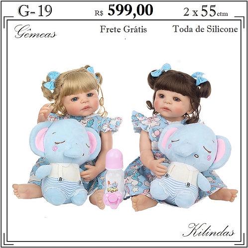 Gêmeas Silicone -G19