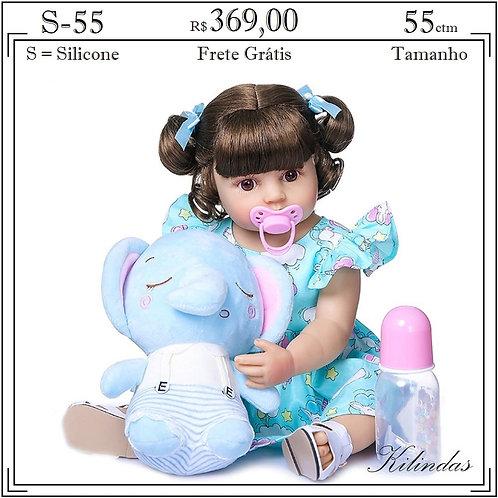 Boneca Silicone -S55