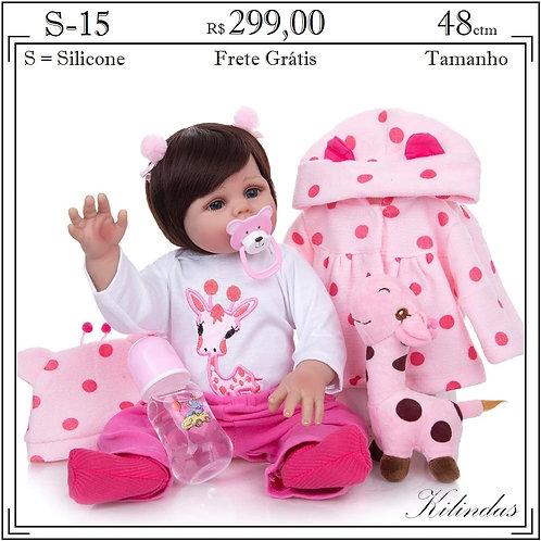 Boneca Silicone -S15