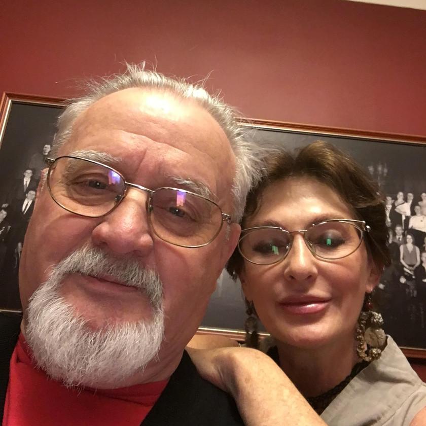 Daumantas su Felikso dukra Marija Šenbrun-Amor