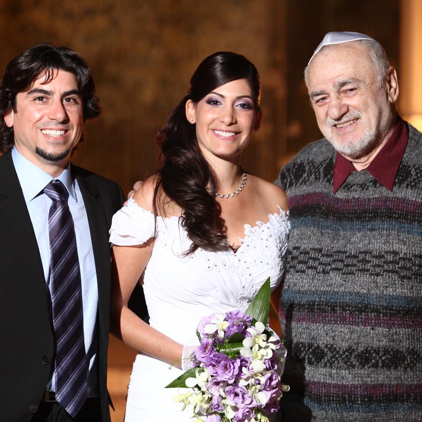 Felikso anūkės vestuvėse