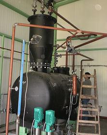 sukom napojni rezervoar i degazator
