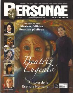 11 Beatriz Eugenia en ISMOS Revista Personae 2011 1