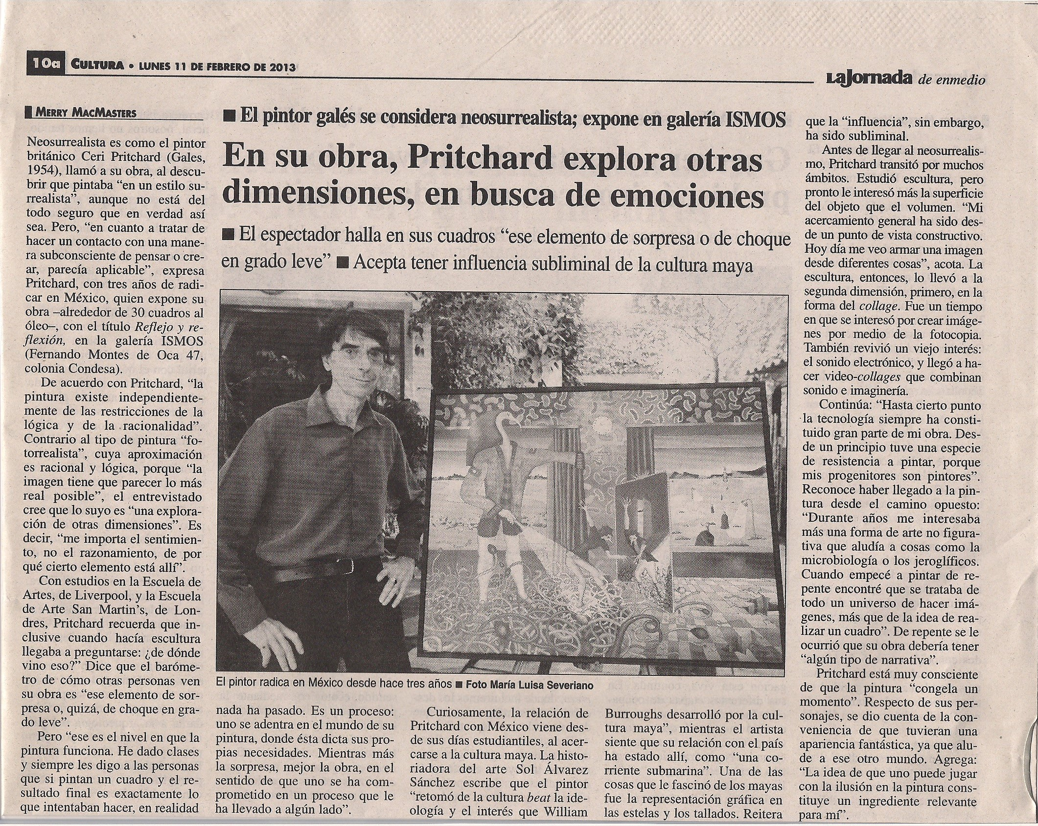 12 Ceri Pritchard en ISMOS 2013 LA JORNADA