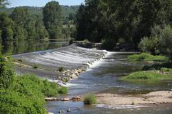 River Aveyron at Varen