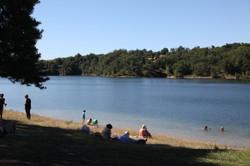 Lac de la Roucarie near Cordes