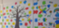 Abacas Kilbarrack School Painted Tree