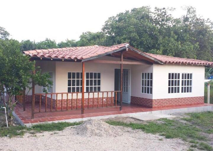 Casa campestre prefabricada 010
