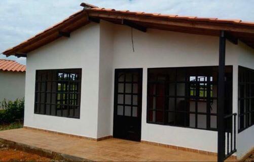 Casa campestre prefabricada 003
