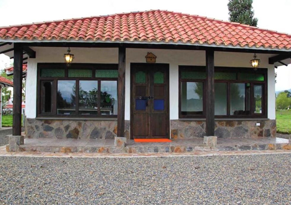 Casa campestre prefabricada 002
