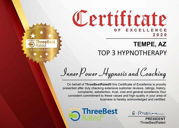 Top 3 Hypnotherapy Tempe AZ