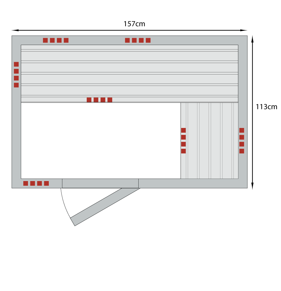 lse-3SD_vector_BT_Health-Mate_infrarood_sauna