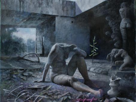 Jorge Rivero; Obras del Pintor chino Santos Hu