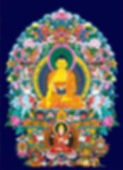 Bouddha Shakyamuni et Lama Tsongkhapa