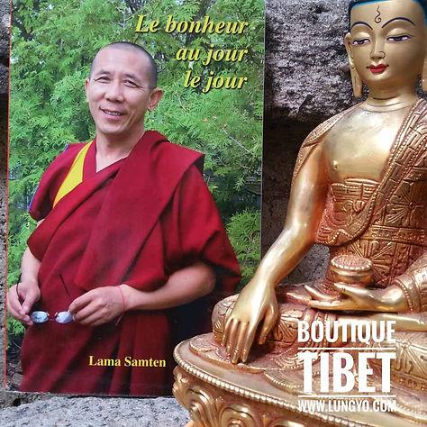 Livre : Bonheur au jour le jour de Lama Samten