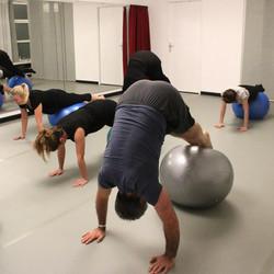 Pilates petit matériel - gros ballon