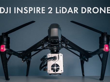 The Ultimate Cyber Monday Reveal - The Inspire 2 LiDAR Drone