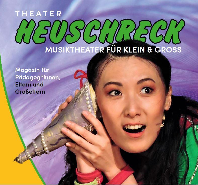 Eine Vorschau auf unser neues Projekt: das erste Theater-Magazin der HEUSCHRECKen erscheint in Kürze!