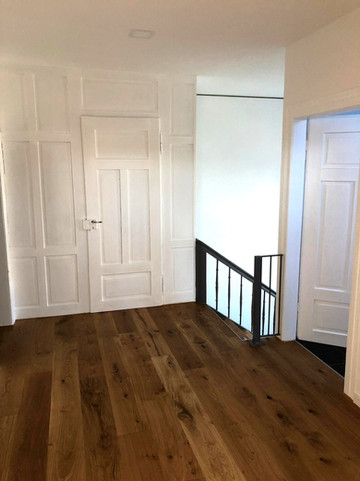 Malerarbeiten / Parkettboden / Türen