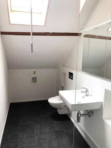 WC Umbau danach