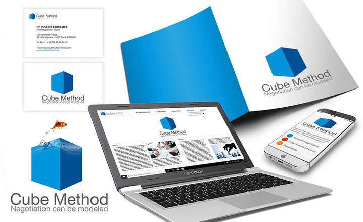 Cube Method new visual identity
