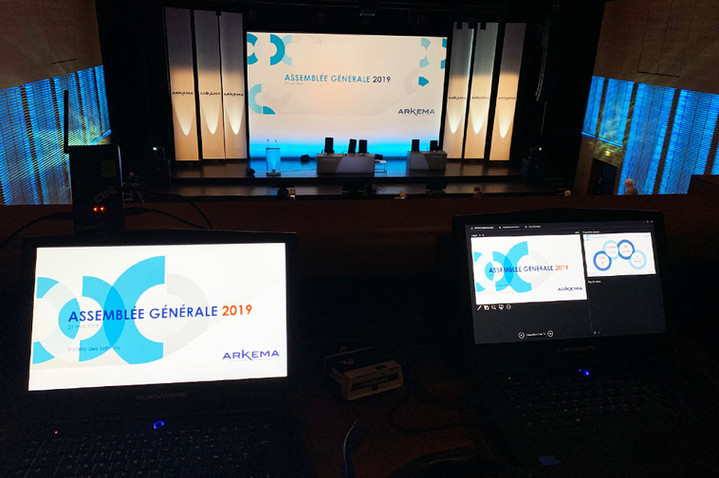 Communication visuelle d'Arkema AG 2019
