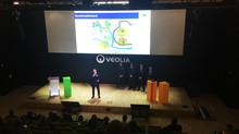 Public speaking coaching in english at Veolia