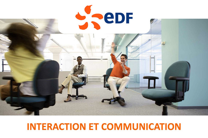 Training EDF : la communication interpersonnelle claire et influente