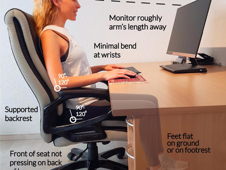 How To Remain Pain Free Whilst Working From Home: Physiotherapy Tips