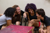 Impro in Brazil: Status Explorations and Joy!