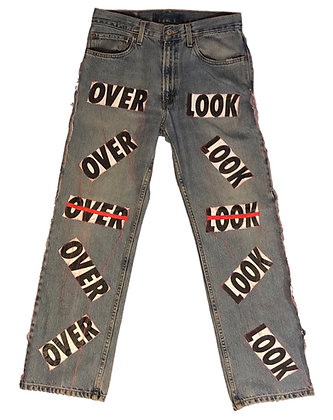 OVERLOOK PRINT JEANS (Denim)