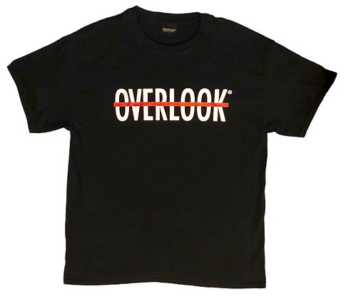 OVERLOOK LOGO TEE (Black)